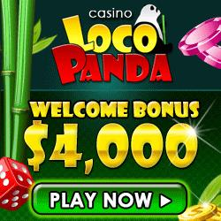 Loco Panda Bonus Codes for up to $4,000 Free!