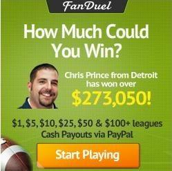 FanDuel Promo Code for 100% Deposit Bonus