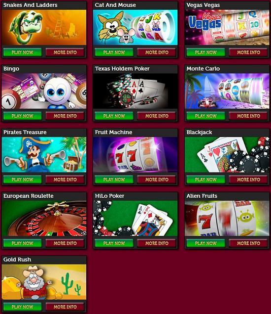 bonus casino games