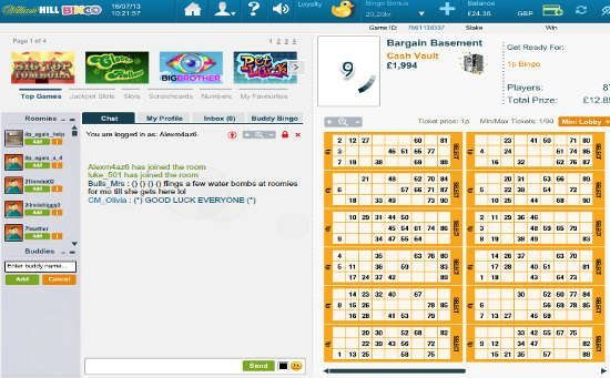 William hill bingo uk ethics of online gambling