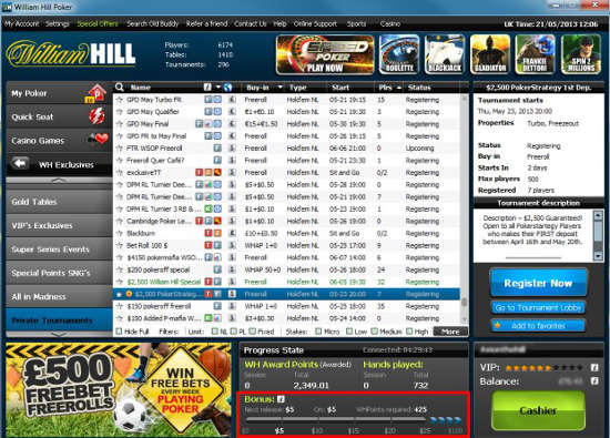 william-hill-poker-bonus-meter