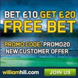 William Hill October Promos
