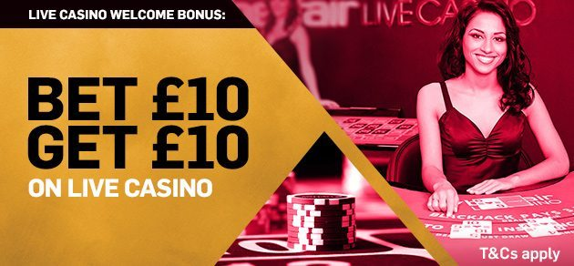 betfair casino first deposit bonus