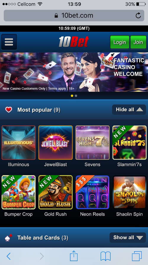 10bet-casino-mobile-site