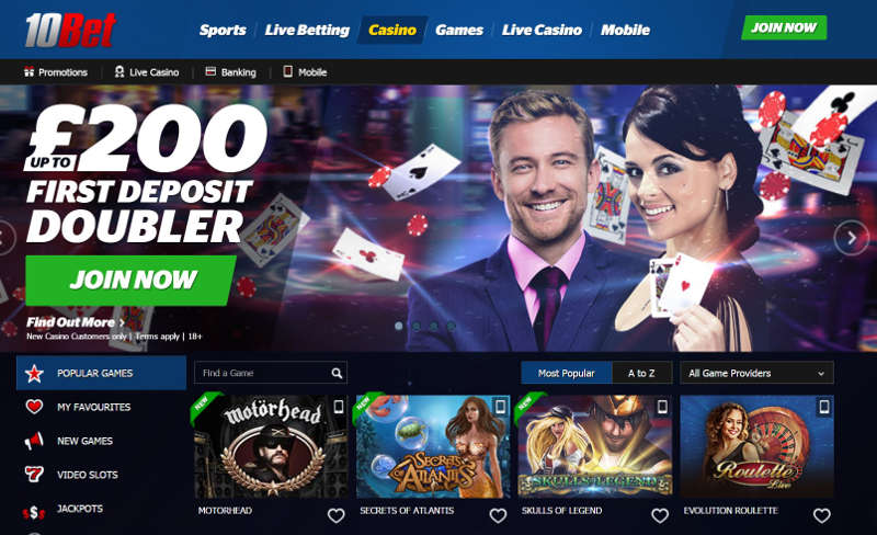 10bet-casino-screenshot