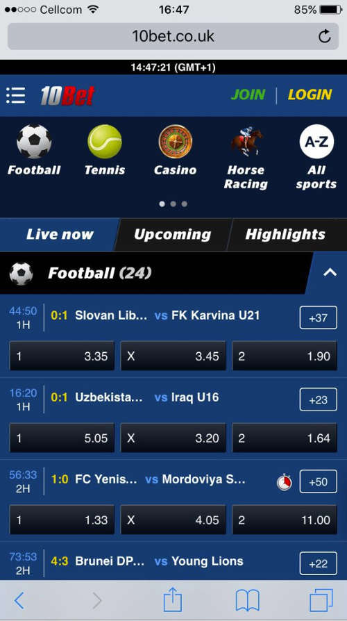 10bet-mobile-website-iphone