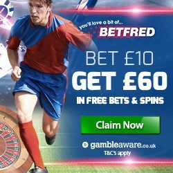 Betfred Promotion Code & No Deposit Bonus