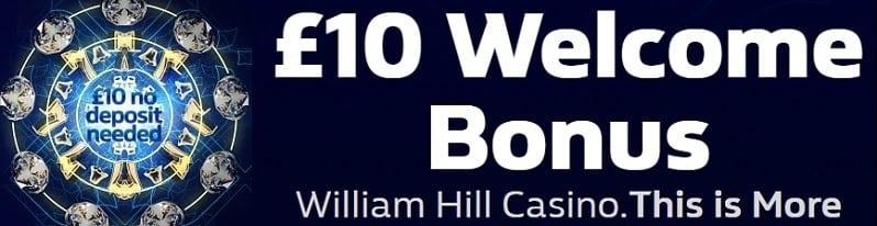 Bonus casino william hill