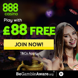 888 Casino Promo Codes & No Deposit Bonus Sep 2019