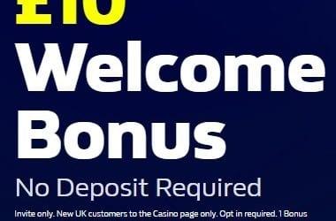 William Hill Casino £10 No Deposit Promo Code