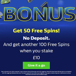 William Hill Casino No Deposit Bonus Free Spins
