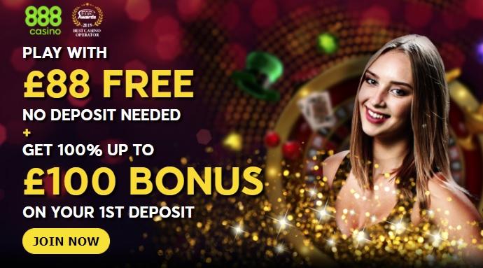 888 Casino Promo Codes & No Deposit Bonus Jul 2021